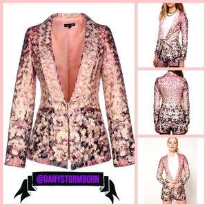 Urban Outfitters metallic floral blazer